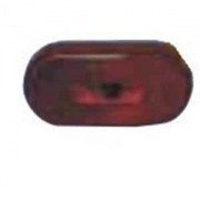 Fasteners Unlimited Red Replacement Lens For 55-8635   NT18-0202  - Towing Electrical