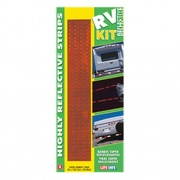 """Reflective Strips Red 2\\""""X12\\""""   NT18-0405  - Towing Electrical"""