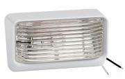 Bargman Porch Light 78 Clear w/Ash White 5 Base   NT18-1004  - Lighting