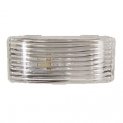Optronics Clear Porch Light Lens   NT18-1910  - Lighting - RV Part Shop USA