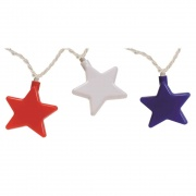 Camco Party Lights Patriotic Stars   NT18-2029  - Patio Lighting