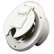 JR Products Economy Under Cabinet Hatch Polar White   NT19-0204  - Power Cords - RV Part Shop USA