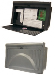 WFCO/Arterra 8700 Series Power Center 25A Black   NT19-6531  - Power Centers