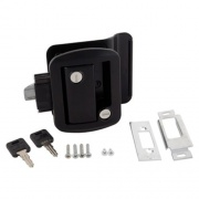 AP Products Global Travel Lockset Black   NT20-0031  - Doors - RV Part Shop USA
