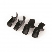 Camco Gutter Spouts Black 4-pack   NT20-0163  - Hardware