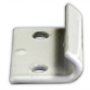 JR Products Fold Down Camper Catch White   NT20-0168  - RV Storage