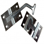 JR Products 45-deg T-Style Door Hold Zinc   NT20-0198  - Doors - RV Part Shop USA
