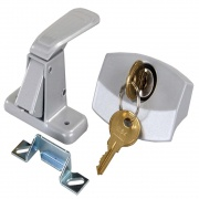 JR Products Locking Camper Door Latch   NT20-0232  - RV Storage