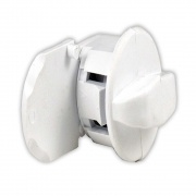 JR Products Replacement Thumb Lock Polar White   NT20-0248  - RV Storage