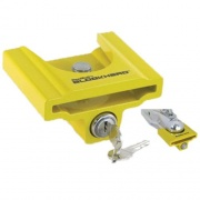 Clyde T Johnson Coupler Lock Yellow Tcl-1Y   NT20-0607  - Hitch Locks