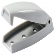JR Products Baggage Door Catch Gray   NT20-0670  - RV Storage - RV Part Shop USA