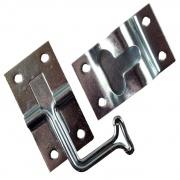JR Products 90Deg T-Style Door Holder Zinc   NT20-0893  - Doors - RV Part Shop USA