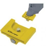 Clyde T Johnson Coupler Lock Yellow   NT20-1132  - Hitch Locks