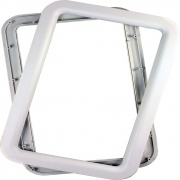 JR Products Deluxe Door Window Frame White   NT20-1226  - Windows - RV Part Shop USA