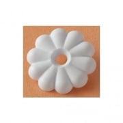 RV Designer Rosette Washers White   NT20-1851  - Fasteners