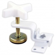 JR Products Fold-Out Bunk Clamp White   NT20-1955  - RV Storage - RV Part Shop USA
