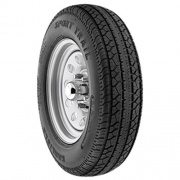 "Americana 225-75 D15 Tire D Mtd 15\"" 6Lug White   NT21-0046  - Trailer Tires - RV Part Shop USA"