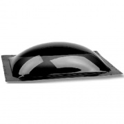 "Specialty Recreation A-Frame Skylight Glue Mount Smoke 21\\""x62\\"" (25\\""x66.5 Flange)  NT22-0307  - Skylights"