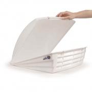 Camco Aero-Flo Vent Cover White   NT22-0375  - Exterior Ventilation