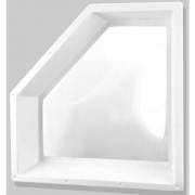 """Specialty Recreation Neo-Angle Skylight Inner White 30\\""""x13\\"""" (34\\""""x16 Flange)  NT22-0574  - Skylights"""