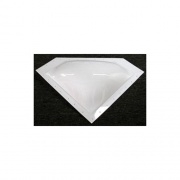 "Specialty Recreation Neo-Angle Skylight White 20\\""x8\\"" (24\\""x11\\"" Flange)  NT22-0707  - Skylights"