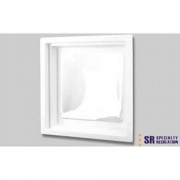 """Specialty Recreation Skylight Inner White/Clear Insert 22\\""""x22\\"""" (24\\""""x24 Flange)  NT22-0714  - Skylights"""
