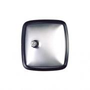Velvac 6-1/2 X 6 Convex Rear Stud Stainless Steel 1/Pk   NT23-0010  - Truck Mirrors