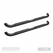 Westin Nerf Bar - Platinum Oval 4In Step   NT25-0997  - Running Boards and Nerf Bars - RV Part Shop USA