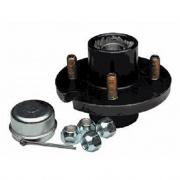 Tie Down Engineering 4-Lug Cast Hub   NT69-7664  - Axles Hubs and Bearings - RV Part Shop USA