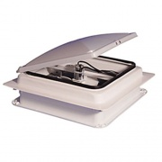 Heng's EZ Vent 14X14 12V White   NT93-0289  - Exterior Ventilation - RV Part Shop USA