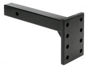 "Tow Ready Pintle Hook Receiver Mount 11-3/8\\"" L 12 000 Black   NT94-8773  - Pintles - RV Part Shop USA"