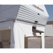 """Adco Products Fifth Wheel Skirt Polar White 64\\""""H X 236\\""""W   NT01-1023  - Other Covers"""