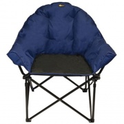 Faulkner Big Dog Chair Blue/Black   NT03-0298  - Camping and Lifestyle - RV Part Shop USA