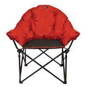 Faulkner Big Dog Chair Burgundy/Black   NT03-0299  - Camping and Lifestyle