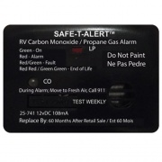 Safe-T-Alert Surface Mount LP Gas/Co Alarm Black   NT03-0646  - LP Gas Products