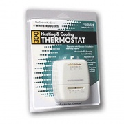 White-Rodgers Thermostat Heat/Cool White   NT08-0068  - Furnaces