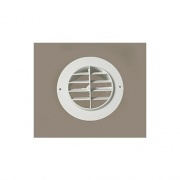 """D & W Heat Vent 4\\"""" White Nondampered Plastic   NT08-0229  - Furnaces"""