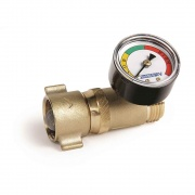 Camco Brass Water Pressure Regulator with Gauge  NT10-0024  - LP Gas Products - RV Part Shop USA