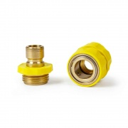 Camco Quick Hose Connector with Flow-Through Connection  NT10-0810  - Freshwater - RV Part Shop USA