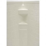 Lippert Parchment Slate 34X34X68 Neo Tile Shower Surround   NT10-5725  - Tubs and Showers - RV Part Shop USA