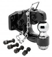"Tow Ready Pintle Hook w/2\\"" Ball Black   NT15-0614  - Pintles - RV Part Shop USA"
