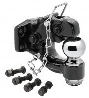 "Tow Ready Pintle Hook w/2-5/16\\"" Ball Black   NT15-0616  - Pintles - RV Part Shop USA"