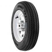 Americana Wheel/Tire 4L 530X12-C Trailer Wheel Spoke White   NT17-0490  - Trailer Tires - RV Part Shop USA