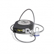 Lippert Tolylok Nylon 15' Cable Lock With Padlock  NT20-0492  - Hitch Locks - RV Part Shop USA