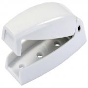 JR Products Baggage Door Catch Polar White   NT20-0652  - RV Storage - RV Part Shop USA