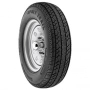 Americana Wheel/Tire 6L ST225/75D Tire15-D Trailer Wheel Spoke White   NT21-0028  - Trailer Tires - RV Part Shop USA