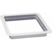 Ventline/Dexter Garnish 1-1/8 Radius Corner White   NT96-4497  - Interior Ventilation - RV Part Shop USA