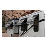 Carefree Sl Window Awning Hardware Satin/Black   NT00-2706  - Window/Door Awnings - RV Part Shop USA