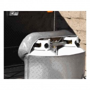 Adco Products Steel LP Tank Cover - Double 30 lb. Lb.   NT01-0170  - LP Tank Covers