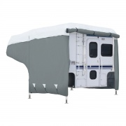 Classic Accessories 8'-10' Poly 3 Truck Camper Cover   NT01-0384  - Truck Camper Covers
